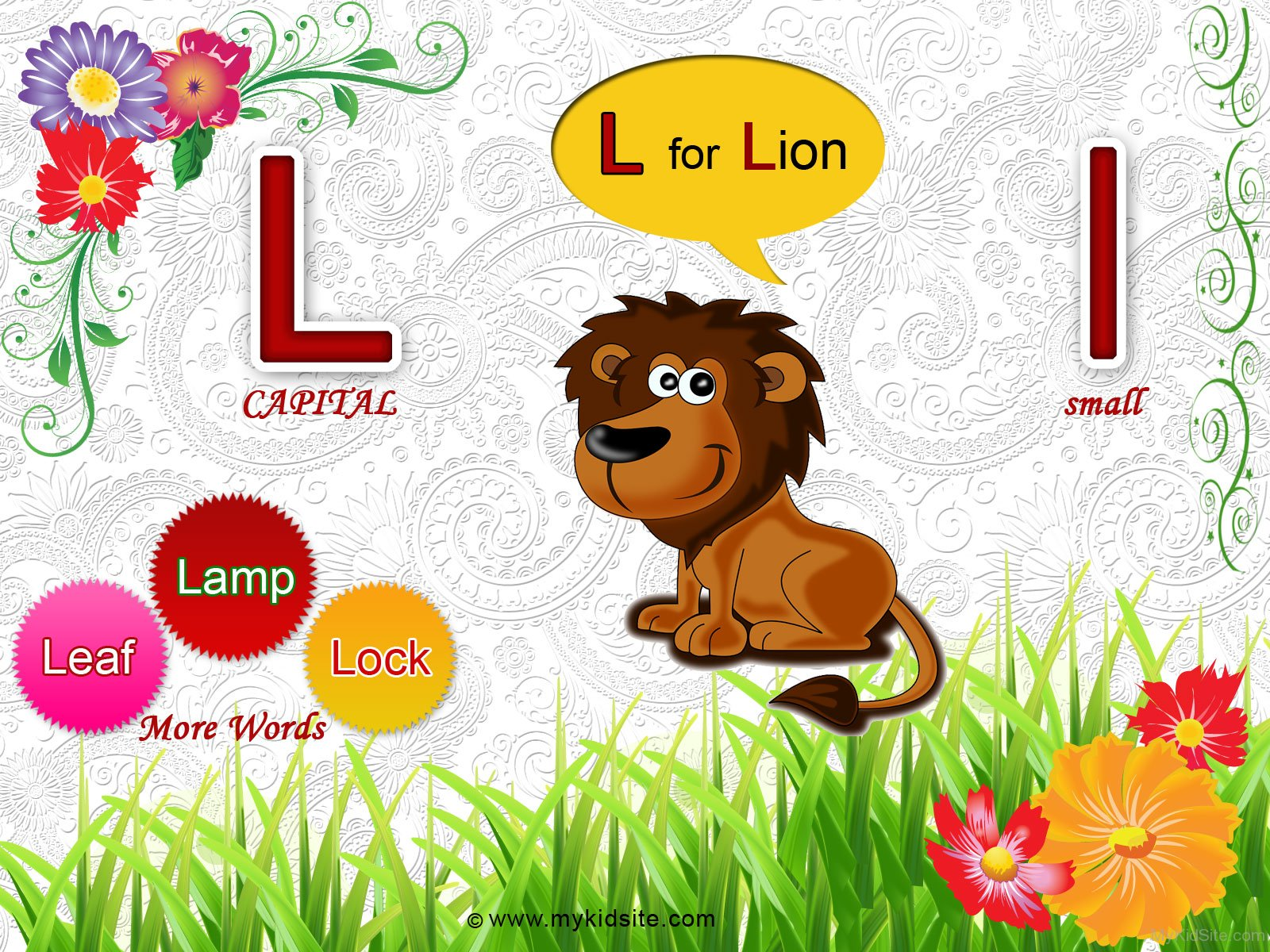 Alphabet Worksheet For Letter L