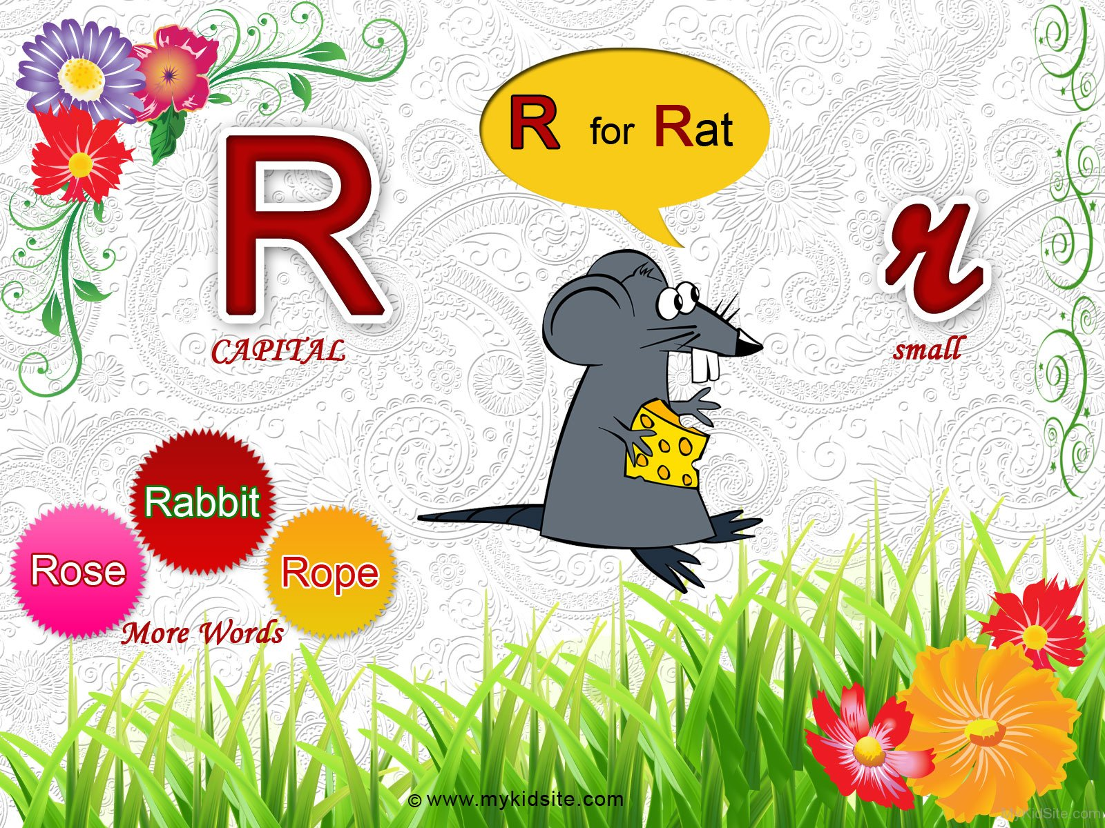 Alphabet Worksheet For Letter R