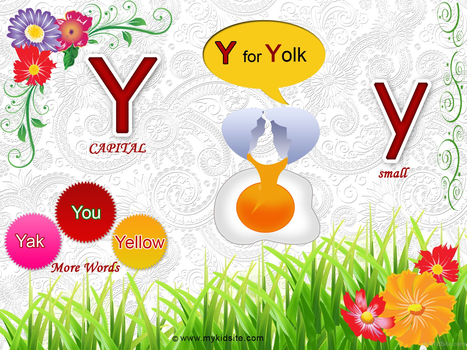 Alphabet Worksheet For Letter Y