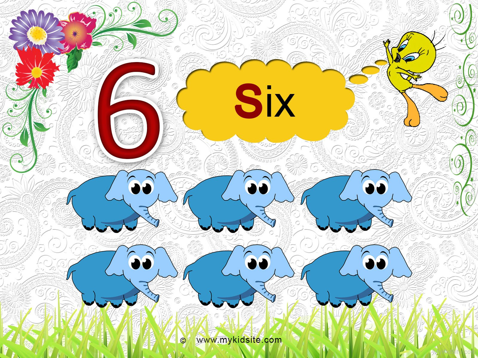 Number Worksheet For 6