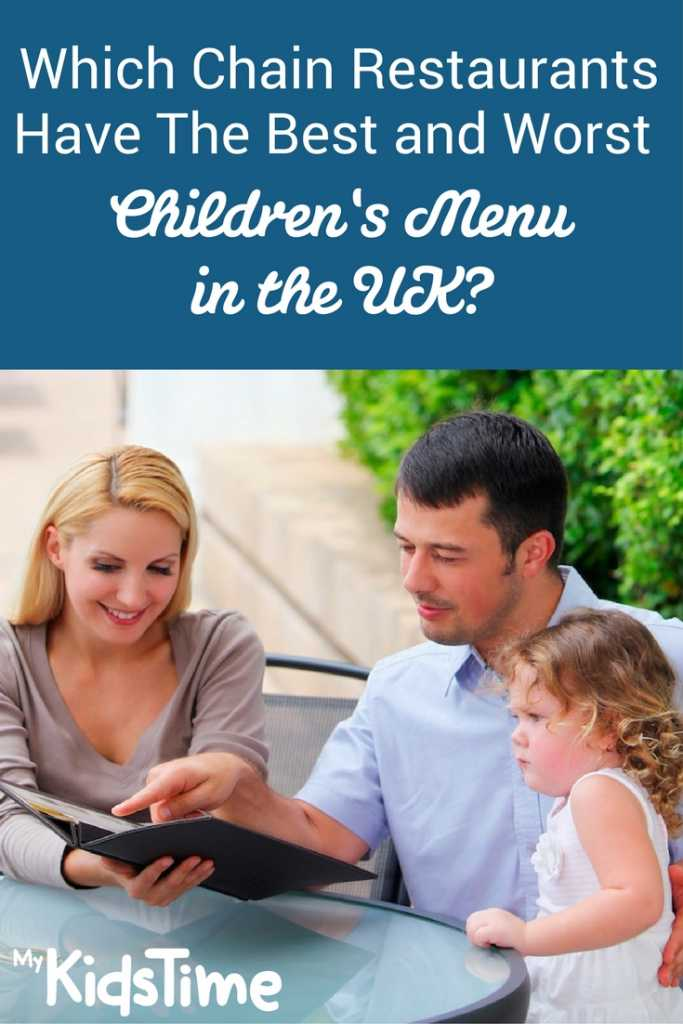 Best Chain Restaurants Kids