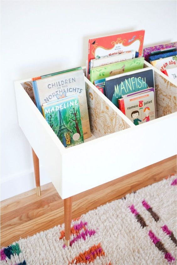 You Ll Love These 10 Ingenious Ideas For Kids Book Storage