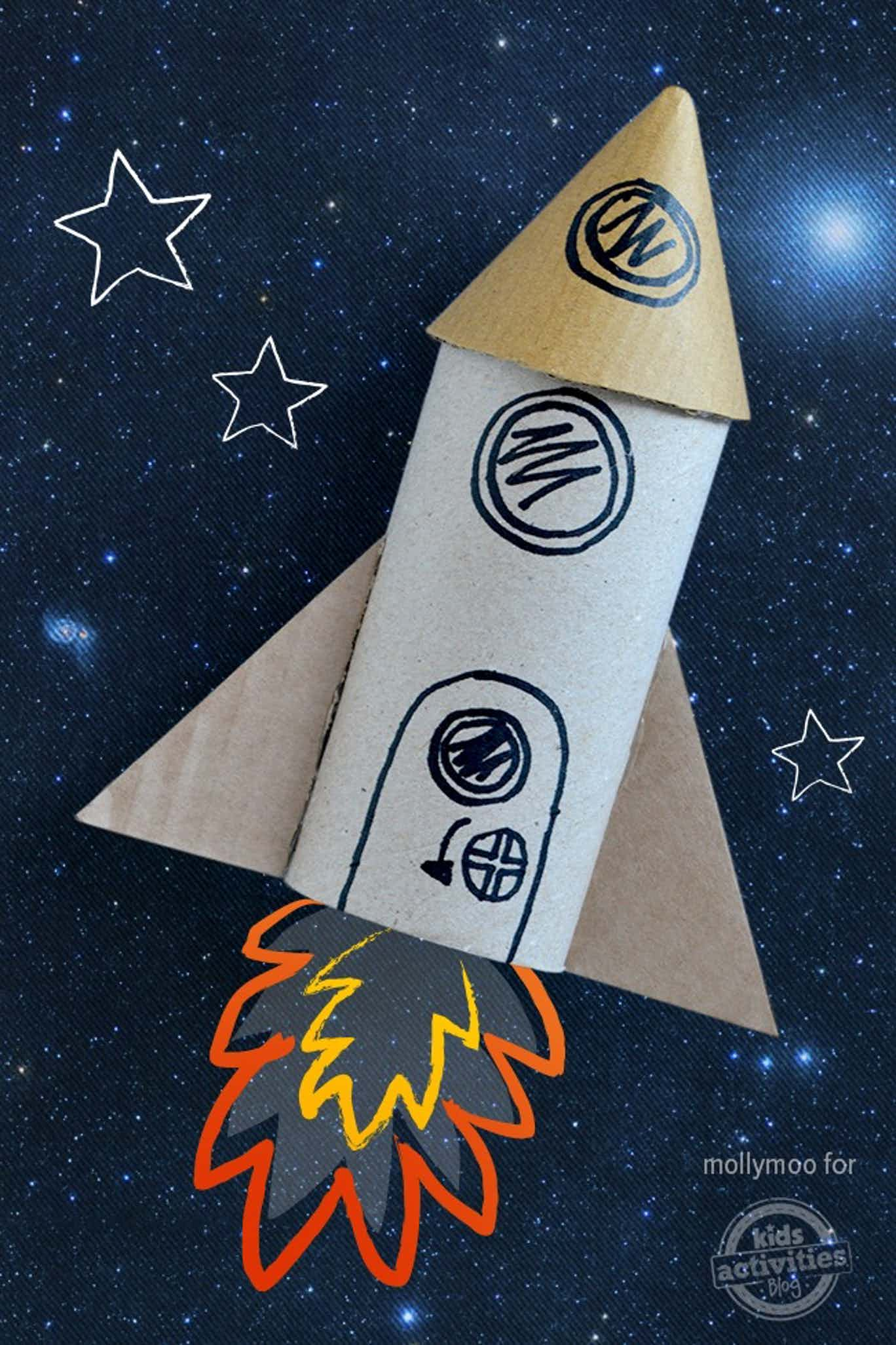20 Supersonic Super Fun Space Crafts For Kids To Make