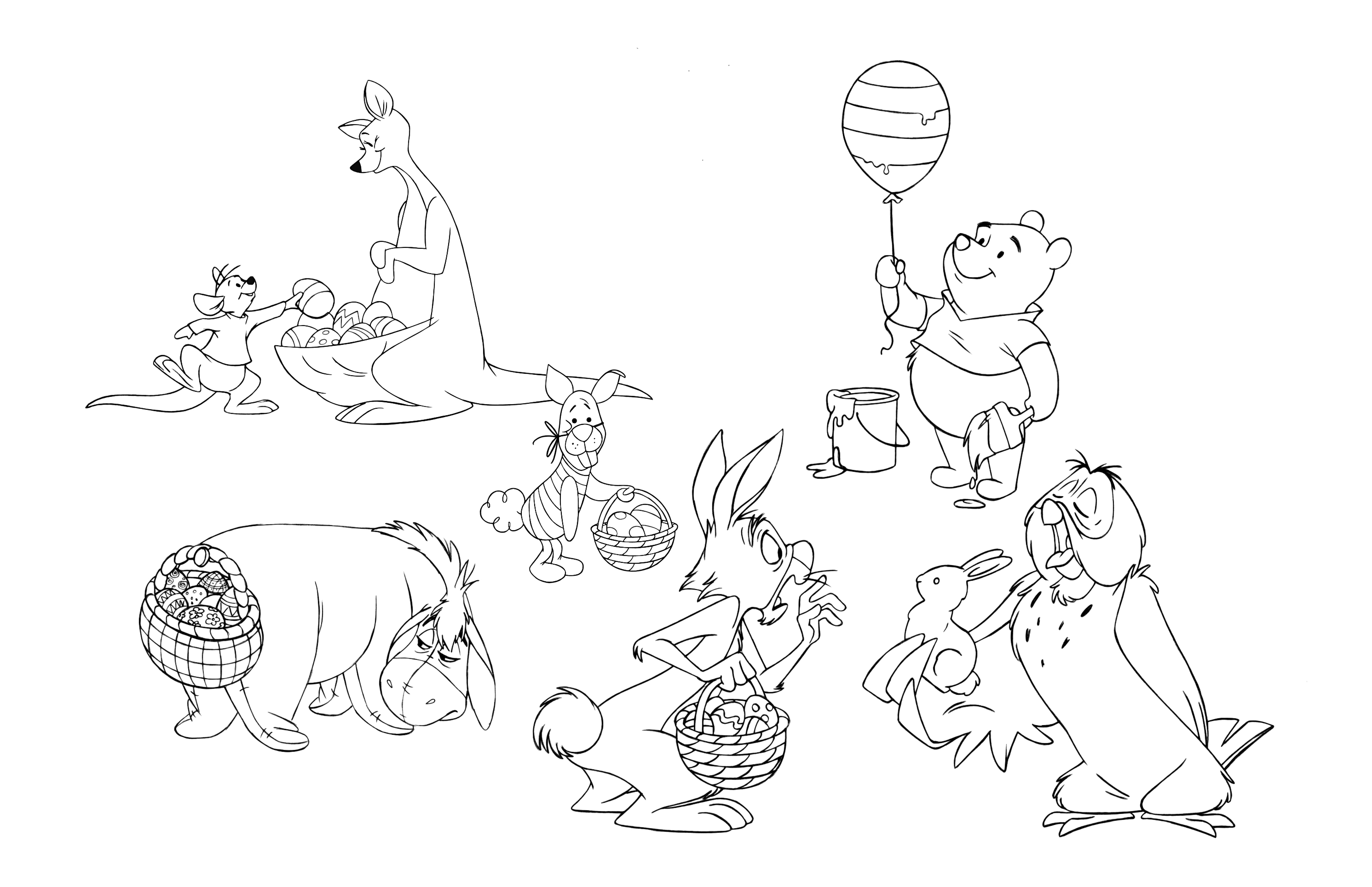 Celebrate Easter With Winnie The Pooh