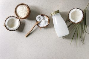 Coconut products for skincare and haircare