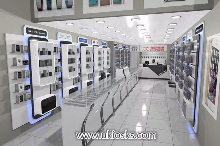 Myidea Custom Cell Phone Accessories Showcase Display