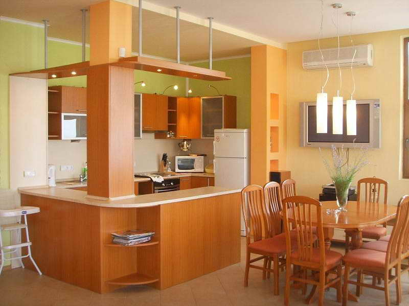 Kitchen Paint Colors With Oak Cabinets And Dark Countertops ...