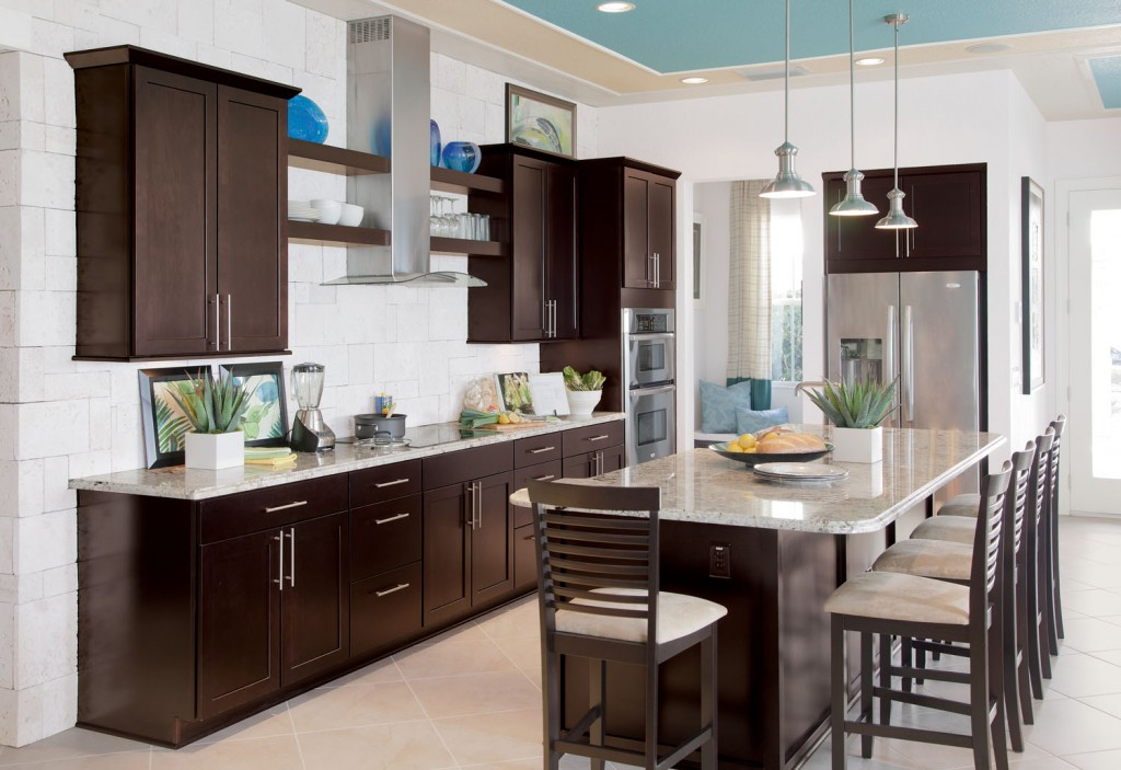 Kitchen Paint Colors With Brown Cabinets Design My