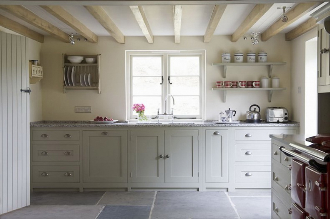 Lovely Country Style Kitchen Cabinets New Popular Style