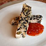 Sesame Crusted Tofu with Sweet Chili Sauce