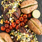 Grilled Seasoned Steak with Charred Corn and Chile Pepper Salsa | My Kitchen Love