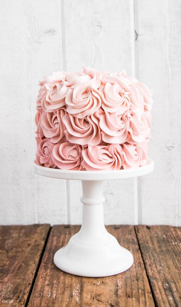 recipe: ombre rosette cake recipe [16]
