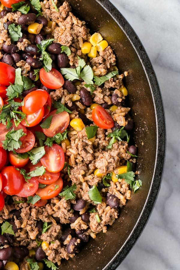 One Pot TexMex Rice | My Kitchen Love #WeekdayWin