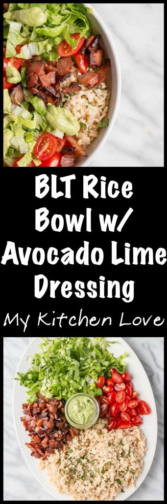 BLT Rice Bowl - long Pin