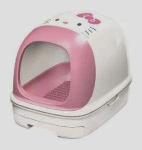 Hello kitty litter box