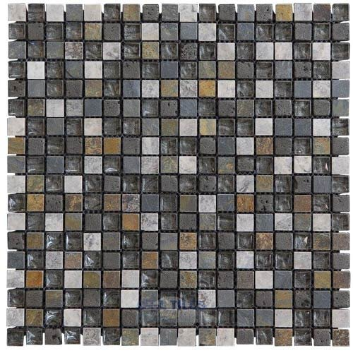 inspiration 5 8 mosaic tile in bliss illusion glass tile