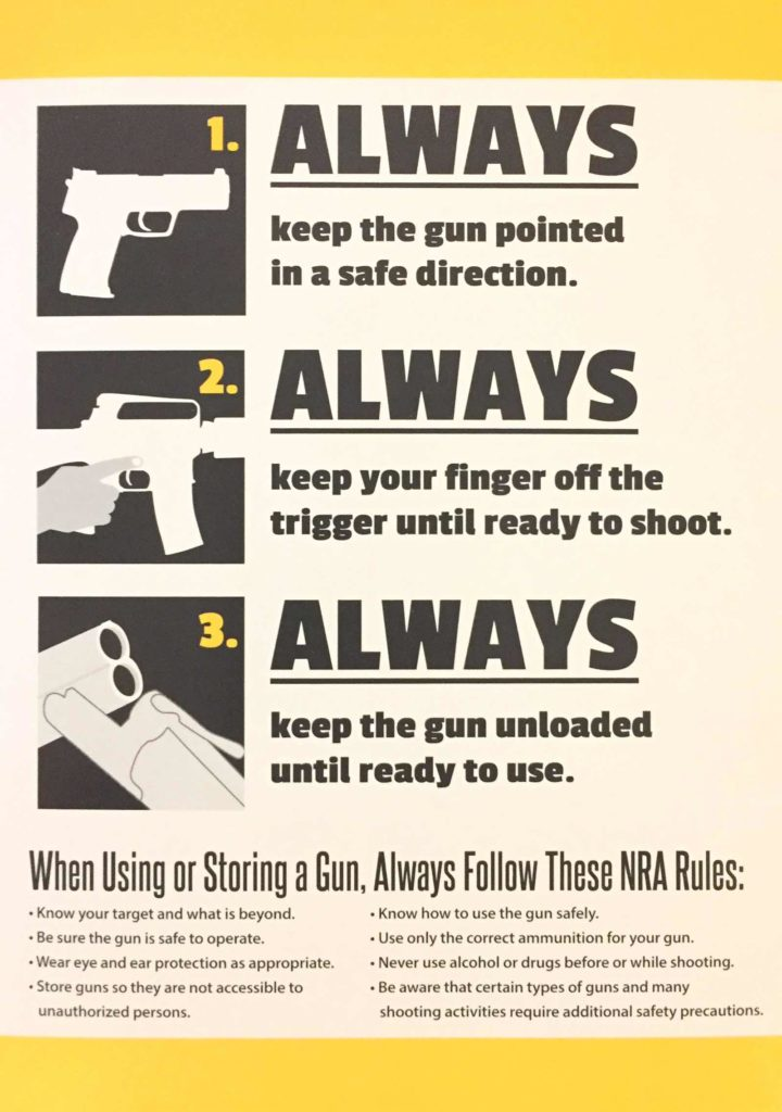 photograph regarding Printable Gun Safety Rules identified as Why Gun Variety Protection Tips are Significant