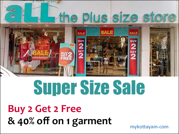 cfd62de15c5 Offers at Kottayam Offers at Kottayam. aLL the Plus size store ...