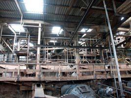 Materials processing plant