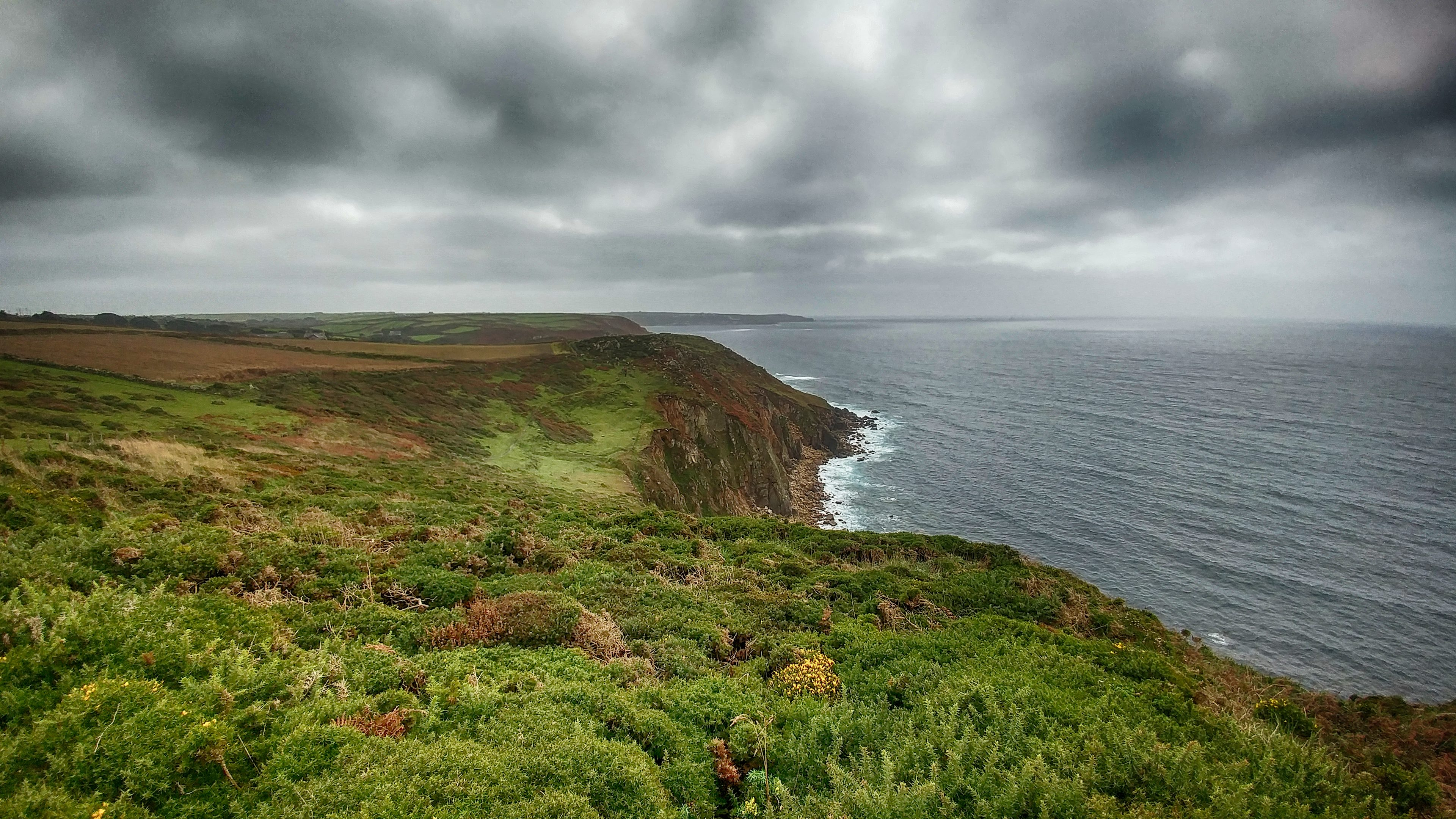 Looking back towards Sennen from near Porth Nanven