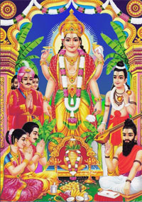 Lord Vishnu is worshiped on the day of Purnima and Satyanarayan Katha is performed.
