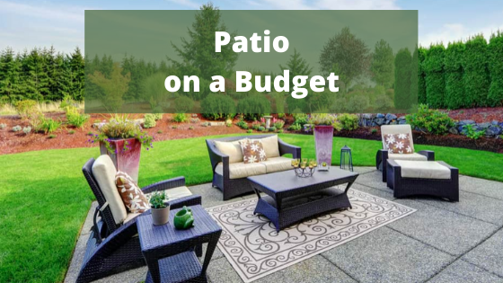 simple patio ideas on a budget my