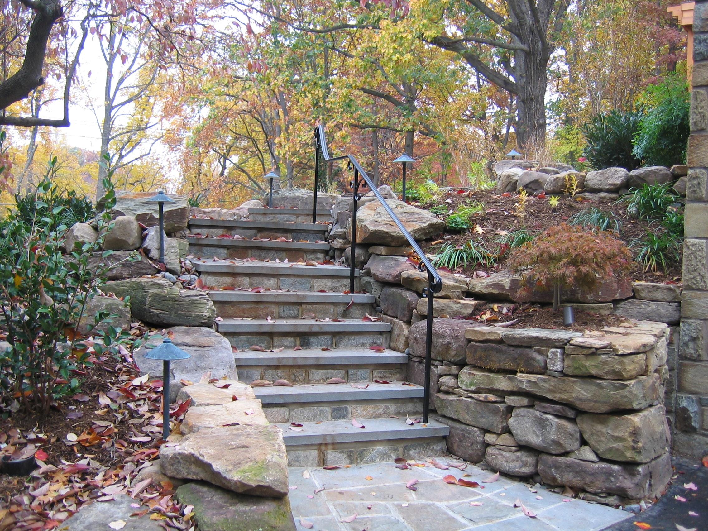 Photos of stone steps