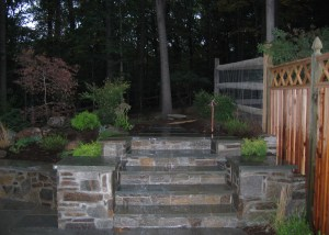 Photo of stone steps