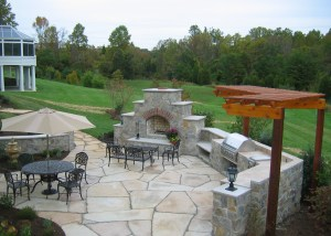 Photo of Outdoor Kitchen