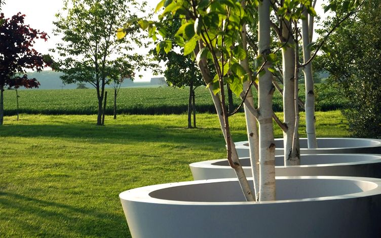 Large Country Garden Design Mylandscapes Contemporary