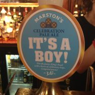 It's a Boy – Marston's Brewery