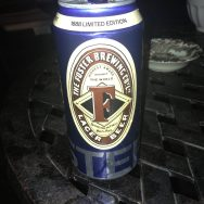 1888 Limited Edition Lager Beer - Fosters Brewery