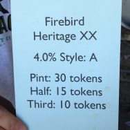 Heritage XX - Firebird Brewery