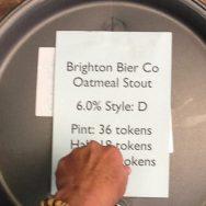 Oatmeal Stout - Brighton Bier Brewery