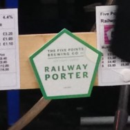 Railway Porter - Five Points Brewery