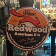 Redwood American IPA – Red Squirrel Brewery