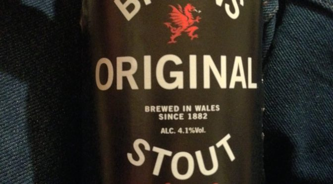 Original Stout - Brains Brewery