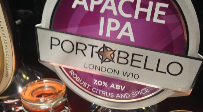 Apache IPA – Portobello Brewery