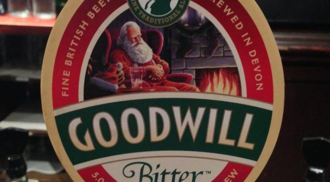 Goodwill Bitter - O'Hanlons Brewing Company