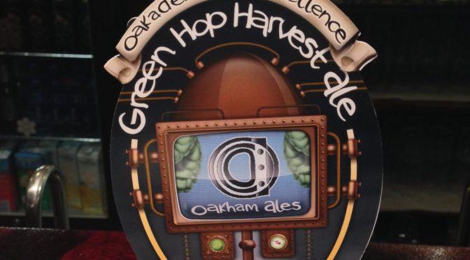 Green Hop Harvest Ale (Limited Edition) - Oakham Ales