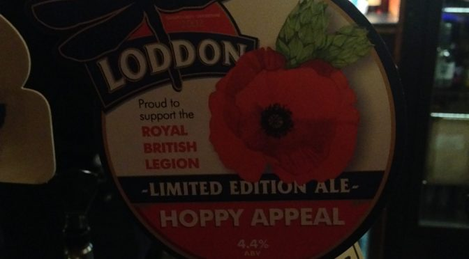 Hoppy Appeal (Limited Edition Ale) - Loddon Brewery