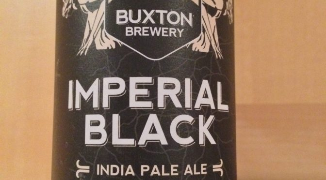 Imperial Black India Pale Ale – Buxton Brewery