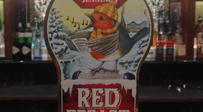 Jennings Red Breast - Marston Brewery