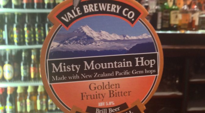 Misty Mountain Hop (5%) - Vale Brewery