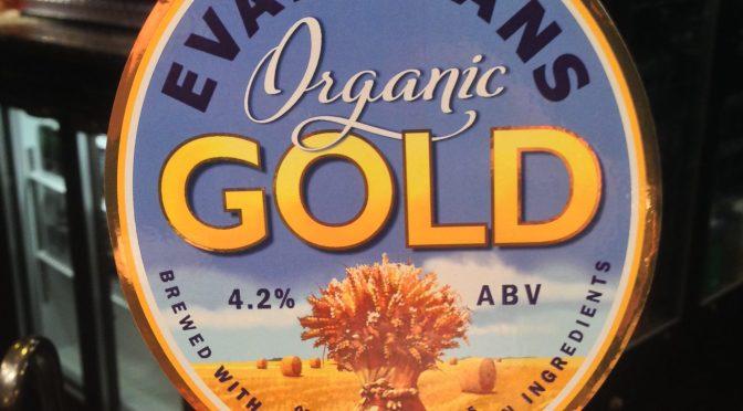Organic Gold - Evan Evans Brewery