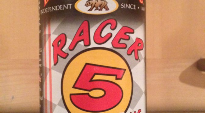 Racer 5 India Pale Ale – Bear Republic Brewery