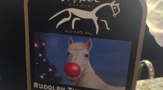 Rudolph The Red Nosed White Horse - White Horse Brewery