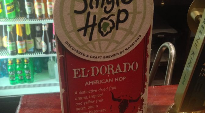 Single Hop El-Dorado - Marstons Brewery