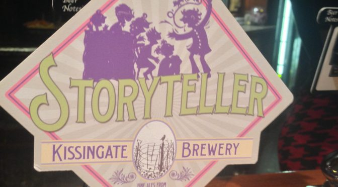 Storyteller Ale – Kissingate Brewery