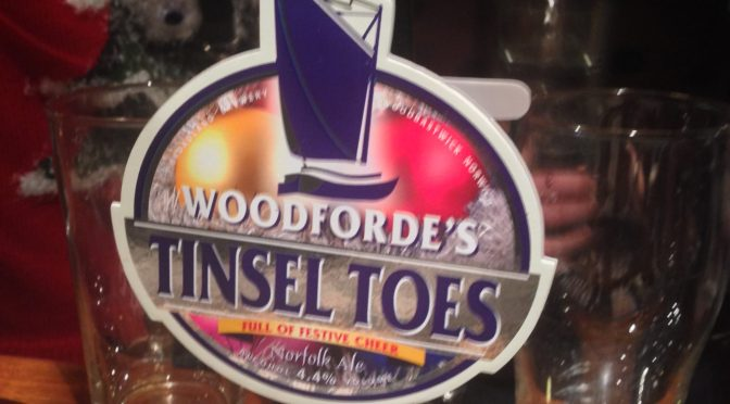 Tinsel Toes - Woodforde's Brewery